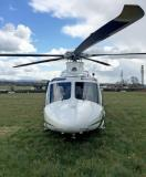 AW139 nose on shot