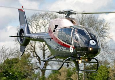 Executive Helicopters EC.120 sporting new colours