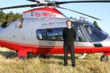 Danny O'Sullivan of Premier Helicopters