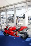 Ducati Ireland worked with Eurocopter corporchalet