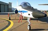 NASA T-38 Talon in the static park