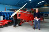 Dick Felix & the 1936 Hornet Moth